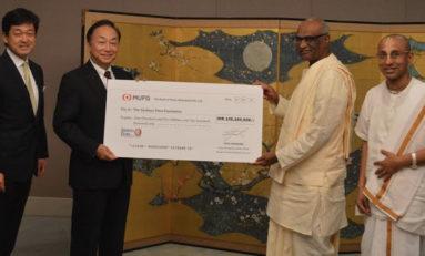 MUFG pledges INR 105.1 million towards mid-day meal programme with Akshaya Patra Foundation