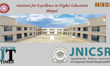Team JNICSR is conducted an orientation conference on career in the field of Corporate Social Responsibility in Excellence College (IEHE) Bhopal.
