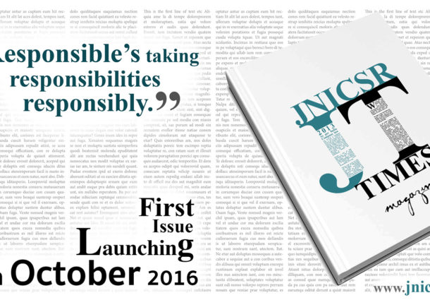 !! Responsible's taking Responsibilities Responsibly !! : First Issue Launching Tomorrow