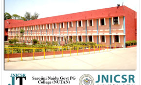JNICSR Foundation conducted workshop on Corporate Social Responsibility at Sarojini Naidu Govt PG College (NUTAN), Bhopal (M.P)