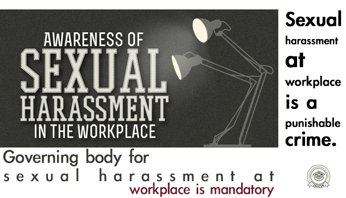 Mandatory sexual harassment