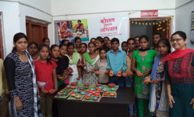 Freshmen's Valley Brightens up Diwali for the Villagers of Bahjoi