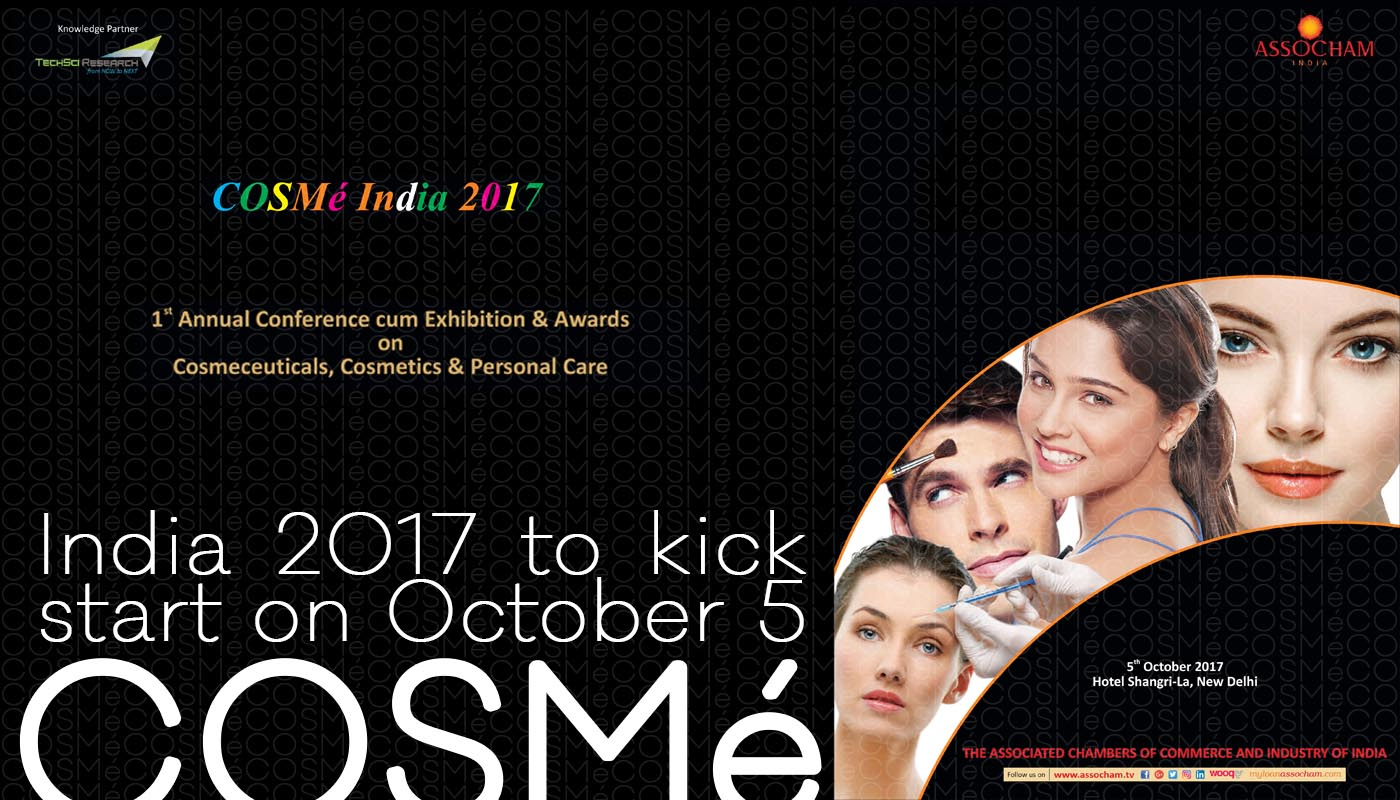 COSMé India 2017 to kick start on October 5