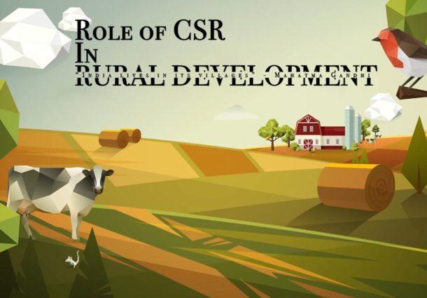 Role of CSR in Rural Development