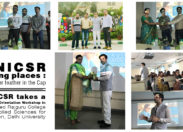 JNICSR going places : Another feather in the Cap | JNICSR takes a Career Orientation Workshop in Shaheed Rajguru College of Applied Sciences for Women, Delhi University