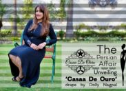 The Persian affair : Unveiling 'Casaa De Ouro' drape by Dolly Nagpal