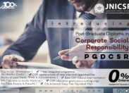 India's first PG Diploma in CSR by JNICSR