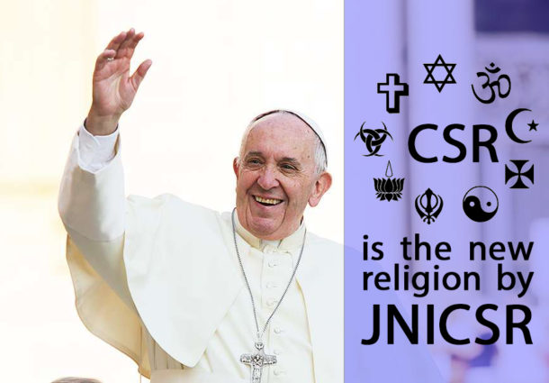 CSR is the new Religion by JNICSR