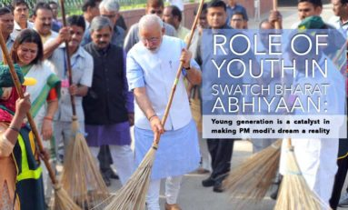 ROLE OF YOUTH IN SWATCH BHARAT ABHIYAAN : Young generation is a catalyst in making PM modi's dream a reality.