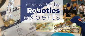 Endeavour to save water by Robotics experts