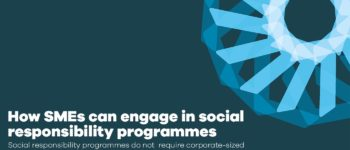 How SMEs can engage in social responsibility programmes