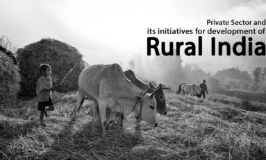 Private Sector and its initiatives for development of Rural India