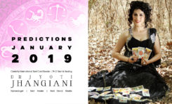 PREDICTIONS JANUARY 2019 By : Dr Jyoti Jhangiani